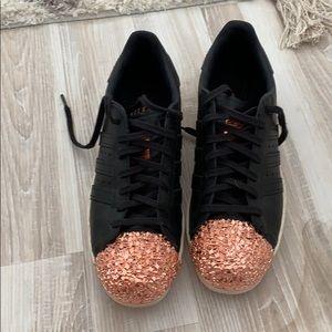 Adidas Originals Rose Gold Sneakers